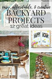 easy affordable backyard projects love u0026 renovations