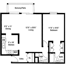 awesome 90 2 bedroom luxury apartment floor plans decorating