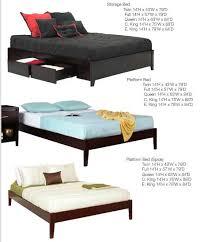 Simple Platform Bed Frame Simple Platform Bed Ms Nile No Headboard Platform Beds