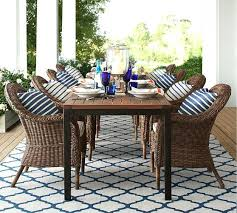 pottery barn concrete table pottery barn outdoor table pottery barn outdoor table and chairs