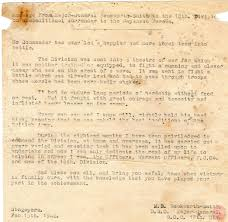thank you letter from major general beckworth smith at the time of