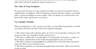 how to write good cover letter gallery letter format examples