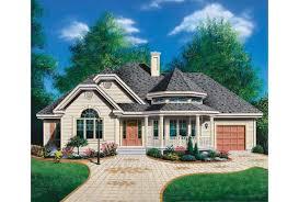 turret house plans eplans house plan decorative turret 1370 square