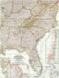 southeast us road map southeastern united states map