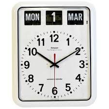large calendar wall clock u2022 unforgettable org