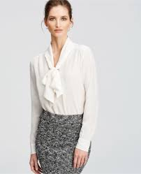 bow tie blouse habitually chic tie one on