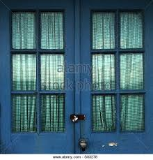 Gingham Curtains Blue Gingham Curtains Stock Photos U0026 Gingham Curtains Stock Images Alamy