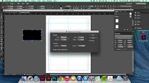 demo creating an 8 up business card template youtube
