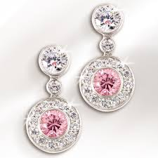 pink earrings oceana pink earrings timepieces international