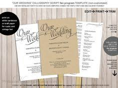 Wedding Program Paddle Fan Template How To Make Your Own Wedding Program Fan Program Fans Wedding