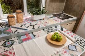 recouvrir plan de travail cuisine recouvrir carrelage cuisine plan de travail plan de travail aspect
