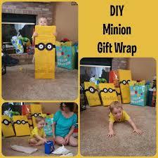 minion gift wrap minion gift wrap idea