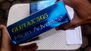 Ul Glutax hasil import glutax 5gs micro advance cellular ultra skin whitening