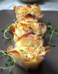 Buffet Potatoes Recipe by Rosemary Potato Parmesan Rosettes Perfect For Buffet