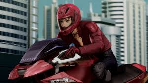 blassreiter top five anime girls with guns and bikes ani me