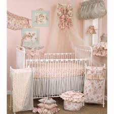 Precious Moments Nursery Decor Floral Crib Bedding Set Tea 7 Set Free Shipping