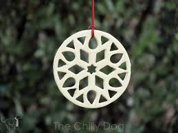 tutorial clay snowflake ornaments the chilly