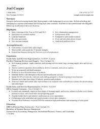 Resume Samples For Cleaning Job by Unforgettable Inside Sales Resume Examples To Stand Out