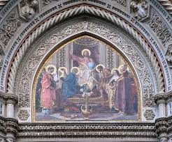 Mosaique Del Sur File Tympanum Central Mosaic Santa Maria Del Fiore Florence Jpg