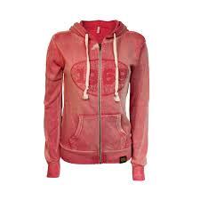 ladies 1969 full zip hoodie red robin retail store