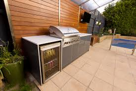 bbq kitchen ideas outdoor kitchen marine grade polymer cabinets black rock outdoor