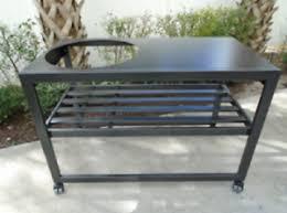 large green egg table 48 aluminum table for large big green egg ebay