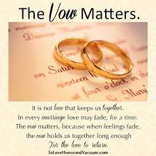 wedding quotes together quotes about what the vow means staying together even in