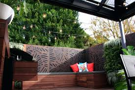 patio ideas privacy screens for outdoor shower apartment patio