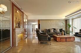 modern living room partition interior design