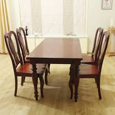 solid wood dining room table tables finished wholesale chinese