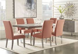 red hook pecan 5 pc counter height dining room contemporary