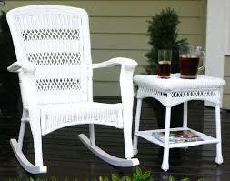 white wicker rocking chairs real wicker patio sets outdoor wicker