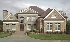 brick colonial house plans three beautiful colonial house plans the house designers