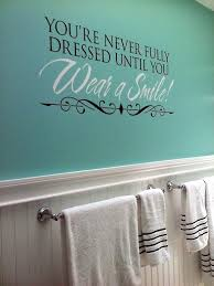 Bathroom Art Ideas For Walls Colors Best 25 Bathroom Wall Decals Ideas On Pinterest Vinyl Lettering