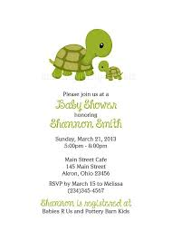 turtle baby shower turtle baby shower invitations marialonghi
