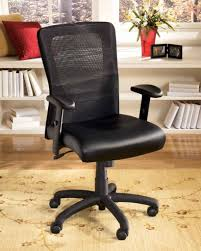 Black Leather Office Chair Furniture Comfy Office Chairs Costco For Office Furniture Ideas
