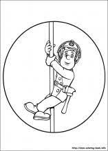 fireman coloring page fireman party pinterest firemen