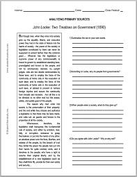 john locke enlightenment two treatises on government primary