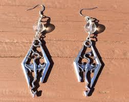 skyrim earrings skyrim the elder scrolls v inspired earrings geeky gifts for