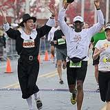 atlanta half marathon thanksgiving day 5k atlanta track club