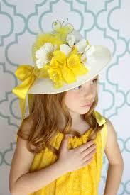 easter bonnet easter bonnet tea party hat flower girl hat child s