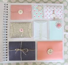 how to make an envelope wedding guestbook scrapbook scrap and