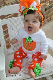 Thanksgiving Dresses For Infants Baby Pumpkin Pretty Little Pumpkin Onesie And