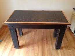 Oak Bar Table Cincinnati Reclaimed Barn Wood Furniture U2013 Granite And Oak Pub