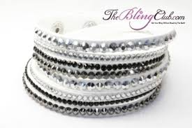 black leather crystal bracelet images Bracelets under 20 catalog bling jewelry clothing more jpg