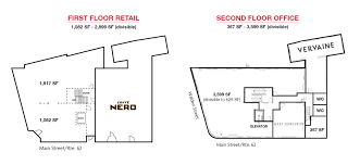 office block floor plans retail u0026 office space for lease in concord ma linear retail
