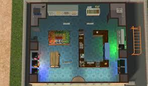 Simpsons Floor Plan Mod The Sims Kwik E Mart Convenience Store No Cc