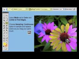 how to use the adobe photoshop cs5 color replacement tool youtube
