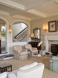 Family Room With Carpet And Hardwood Houzz - Family room carpet