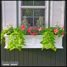 vinyl window boxes fairfield window box colored vinyl flower boxes
